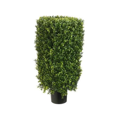 Tori Home Rectangle Boxwood Topiary in Pot