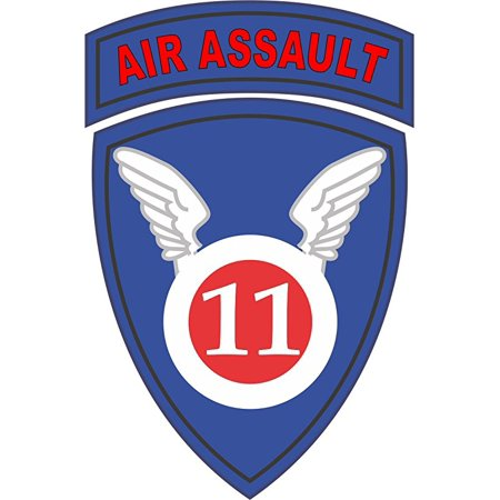 - MAGNET 11th Airborne Division Air Assault 5.5 Inch Magnetic Sticker Decal