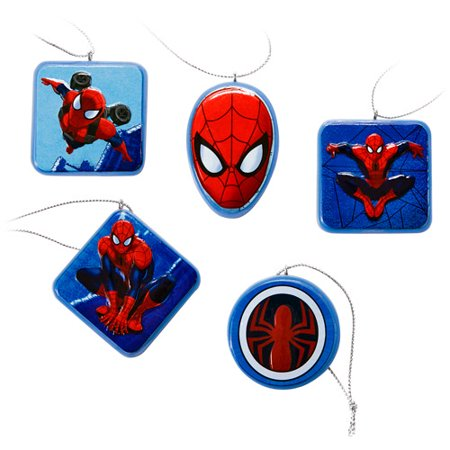 Hallmark Spider-Man Christmas Ornaments, Set of 5 - Hallmark Spider-Man Christmas Ornaments, Set Of 5 - Walmart.com