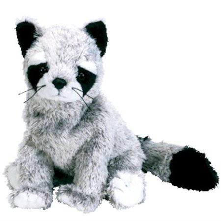 Ty Beanie Baby - BANDITO the Raccoon](Furry Raccoon)