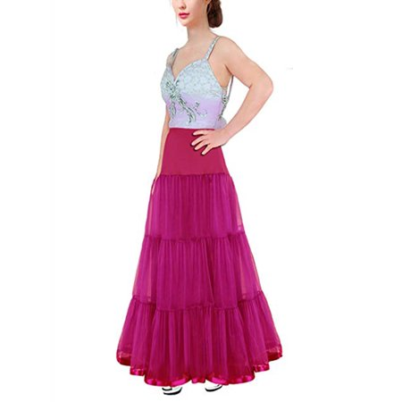 LELINTA Women's Petticoat Tutu Skirt Vintage Rockabilly Swing Dress White Underskirt Underskirt/ Slip Crinoline Prom/Wedding ()