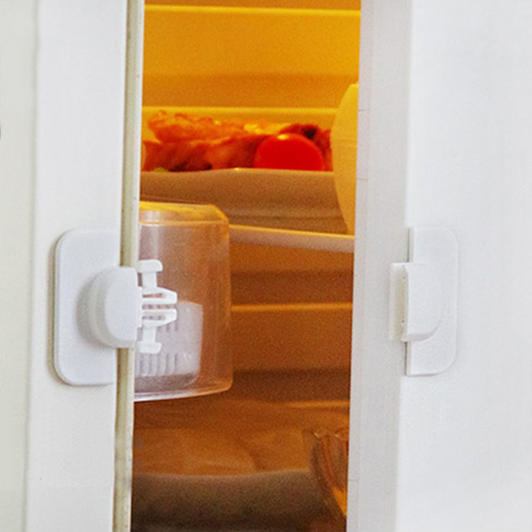 Practical Cabinet Door Drawers Refrigerator Toilet Safety Plastic Lock For Child Kid Baby Safety Lock Best Tool For Home Use