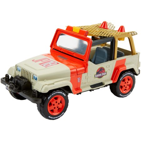 Matchbox Jurassic World Jeep Wrangler + Rescue Net