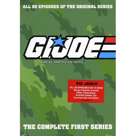 Gi Joe: A Real American Hero: The Complete First Series (List Of Best American Tv Series)