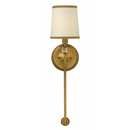 best sneakers 30952 c40fe Hinkley Lighting 4872 1-Light Wallchiere Wall Sconce from the Morgan  Collection