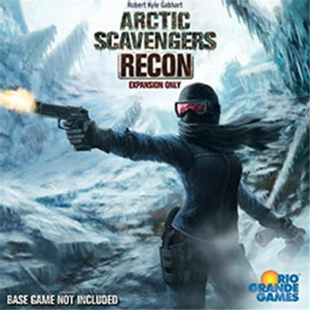 Rio Grande Games Arctic Scavengers: Recon Board Game Expansion - Skeleton Scavenger Hunt Halloween Game