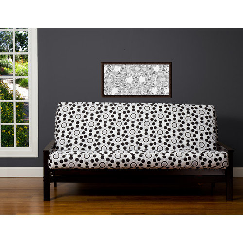 Siscovers Well Rounded Zipper Futon Slipcover