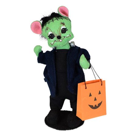 Annalee Dolls 2019 Halloween 6in Frankenstein Mouse Plush New with (Frankenstein's Castle Halloween 2019)