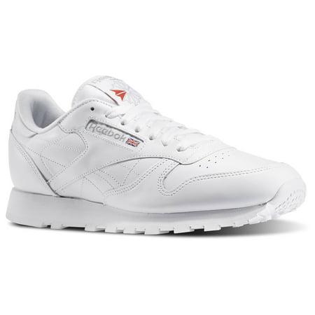 0b9b059fcc67f9 Reebok - Reebok 9771  Men s Classic Leather Fashion White Light Grey  Sneaker (9.5 D(M) US Men) - Walmart.com