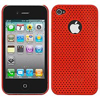 Cellet Red Proguard For Apple iPhone 4 (AT&T Phone