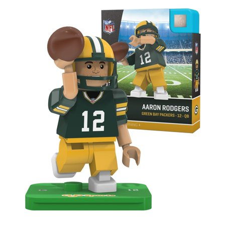 Nfl Green Bay Packers Gen4 Limited Edition Aaron Rodgers Mini Figure  Small  White  Your Looks Like The Real Player By Oyo