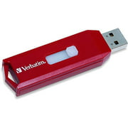 Verbatim Store 'n' Go 64GB USB 2.0 Flash Drive, Red