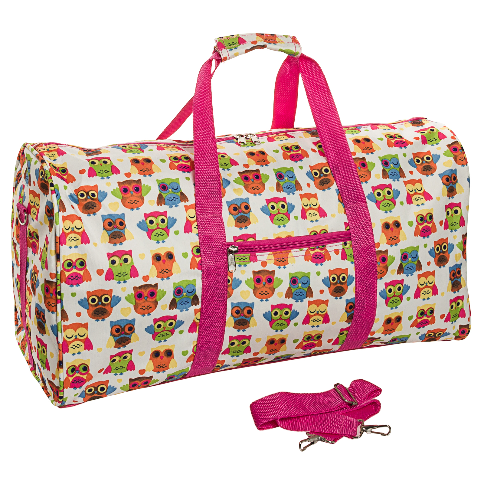 "22"" Carry On Travel School Gym Teen Womens Duffel Bag"