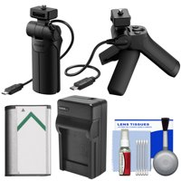 Sony VCT-SGR1 Shooting Grip & Mini Tripod with Battery & Charger + Cleaning Kit