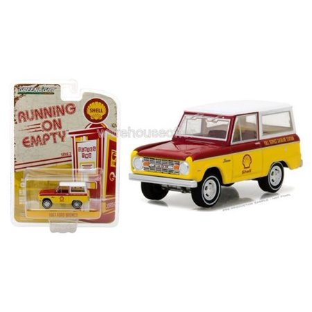 GREENLIGHT 1:64 RUNNING ON EMPTY SERIES 2 - 1967 FORD BRONCO - SHELL 41020-B