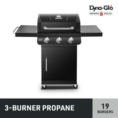 Dyna-Glo DGP397CNP-D Premier 3 Burner Propane Gas Black BBQ Grill