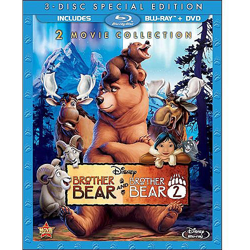 Brother Bear / 2 (Blu-ray + DVD) (Widescreen)