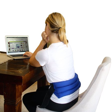 My Heating Pad- Adjustable Lumbar & Abdomen Heat Therapy Pack - Back Pain Relief (Heating Pack)