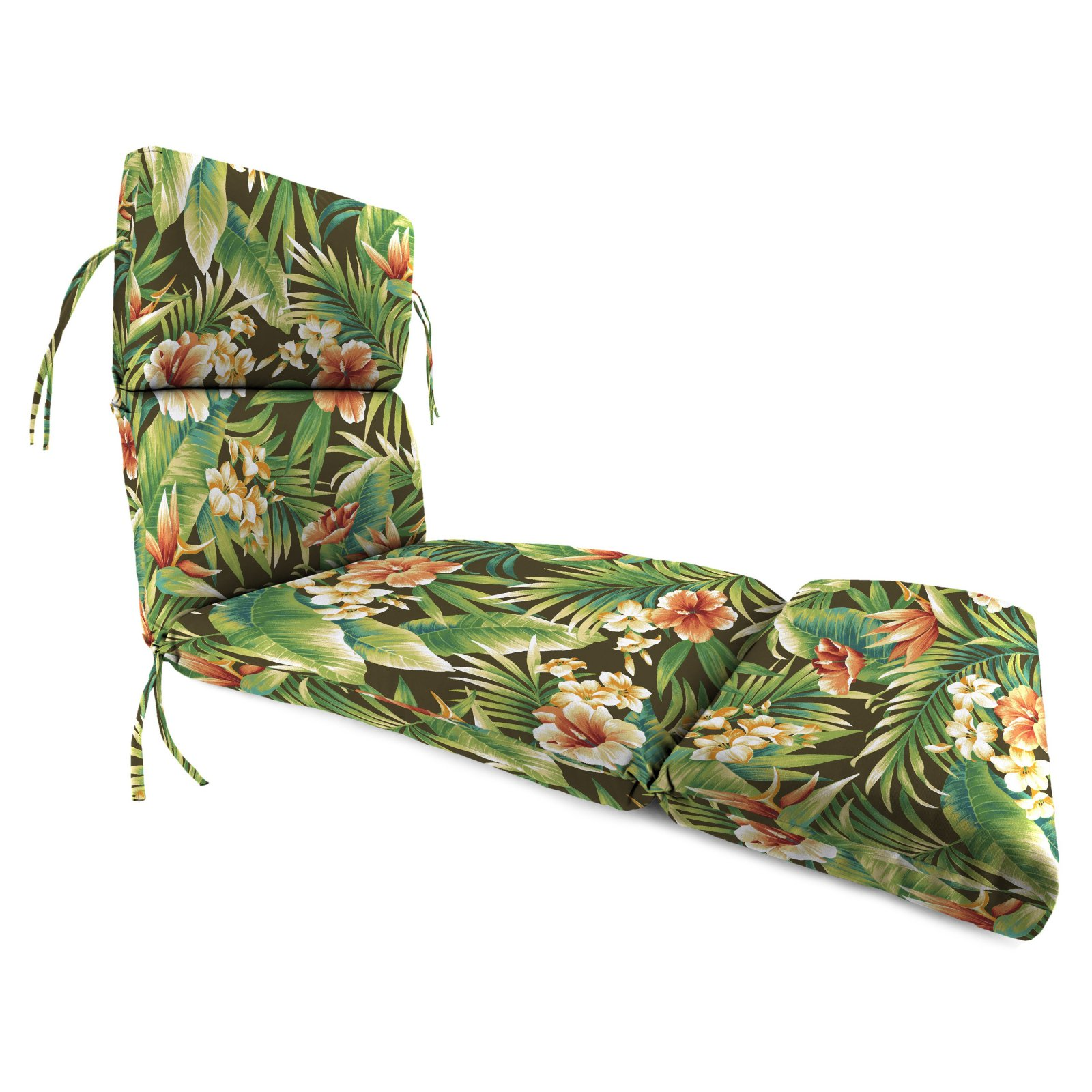 Jordan Manufacturing 74 in. French Edge Outdoor Cypress Chaise Lounge Cushion