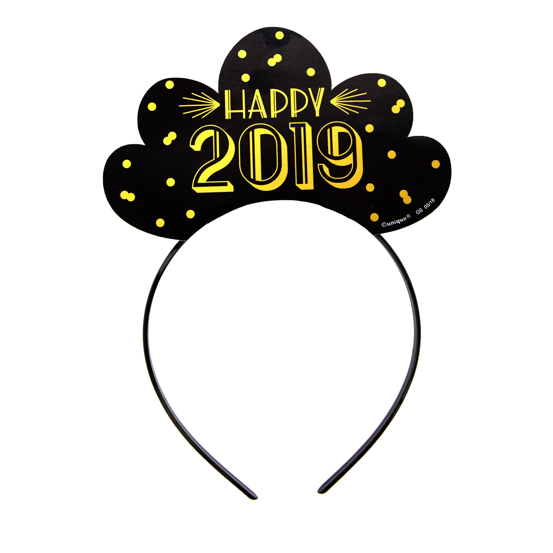 Happy New Year Headband 51