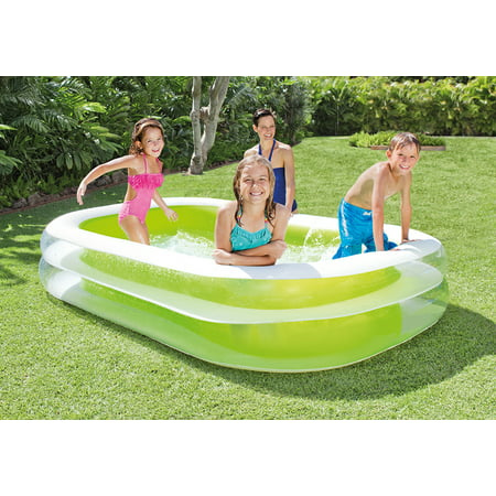 Intex inflatable swim center family lounge pool 103 x 69 x 22 Intex inflatable swimming pool