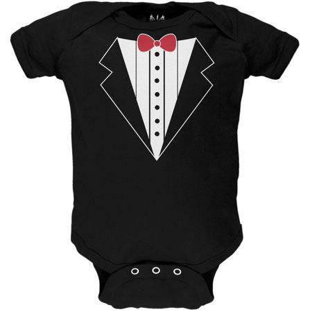 Valentine's Day - Tuxedo Costume Baby One Piece - Valentines Day Costumes
