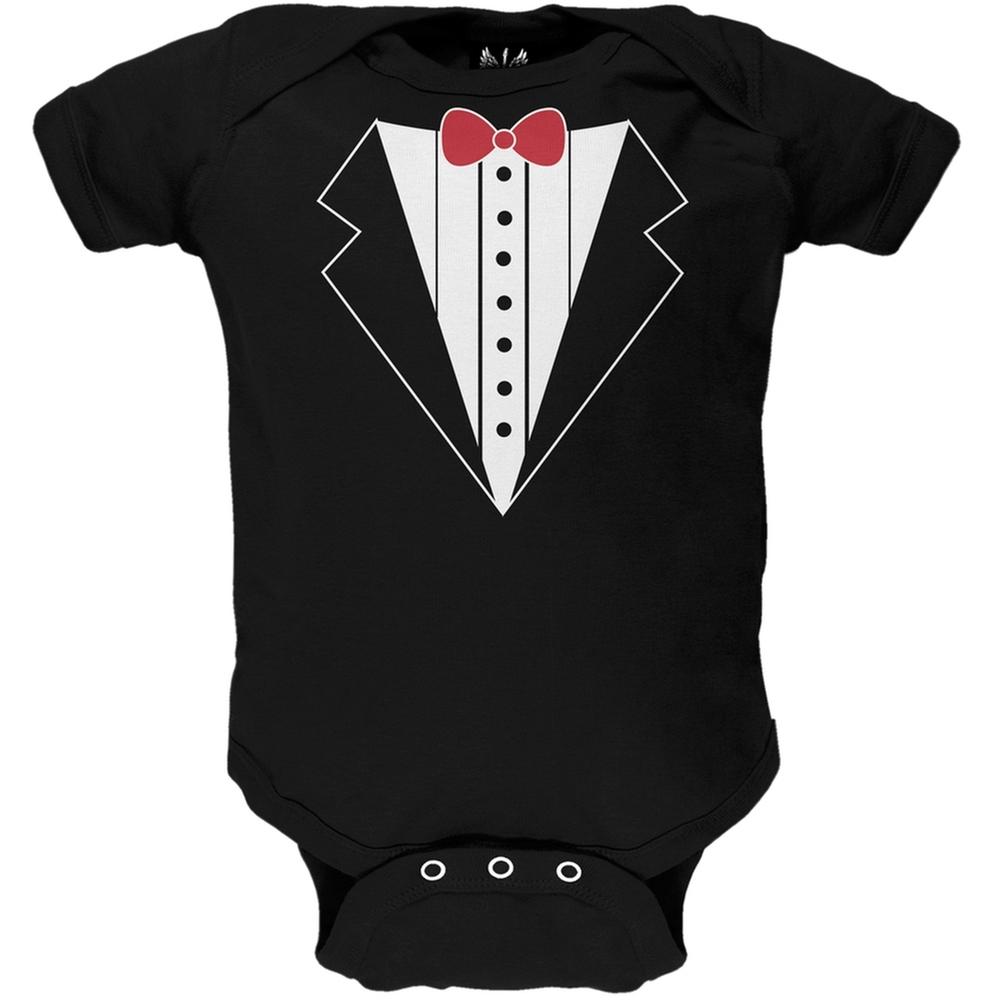 Valentine's Day - Tuxedo Costume Baby One Piece