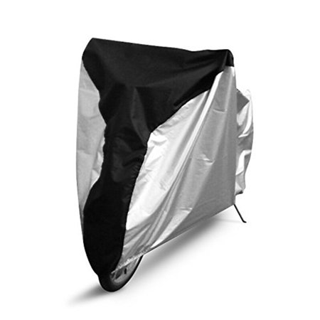 - Waterproof Bike Cover Bicycle Cover UV Protection Waterproof 190T Polyester Rainproof Sunproof Dustproof Bike Outdoor Protective Cover