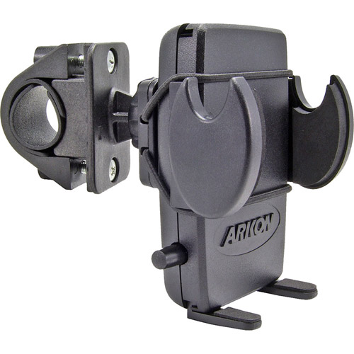 Arkon SM432 Bike-Mount Handlebar Holder w Bungee Strap for iPhone 5s/5c/4S/4/3GS and iPod touch Motorcycle Mount