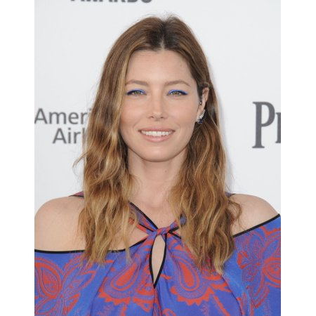 Jessica Biel At Arrivals For 2016 Film Independent Spirit Awards   Arrivals 2 Canvas Art     16 X 20