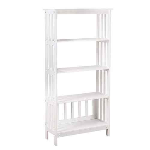 Adeco Trading 57'' Etagere Bookcase by