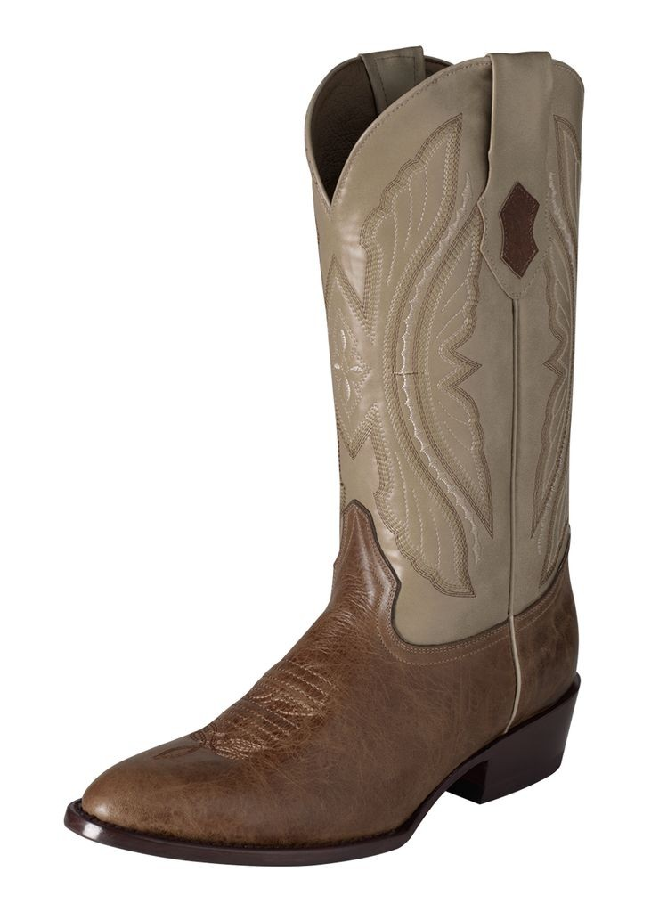 Ferrini Western Boots Men Exotic Kangaroo Dark Antique Saddle 10811-15 by Ferrini