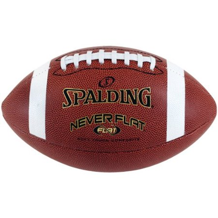 Spalding Never Flat Football, Full Size