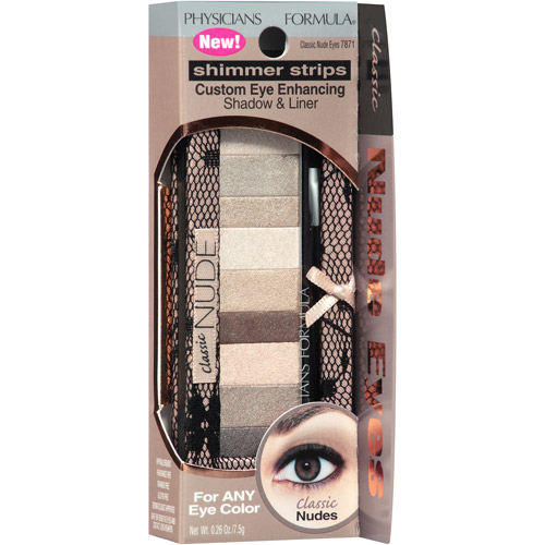 Physicians Formula® Shimmer Strips Classic Nude Eyes Custom Eye Enhancing Shadow & Liner 0.26 oz. Box