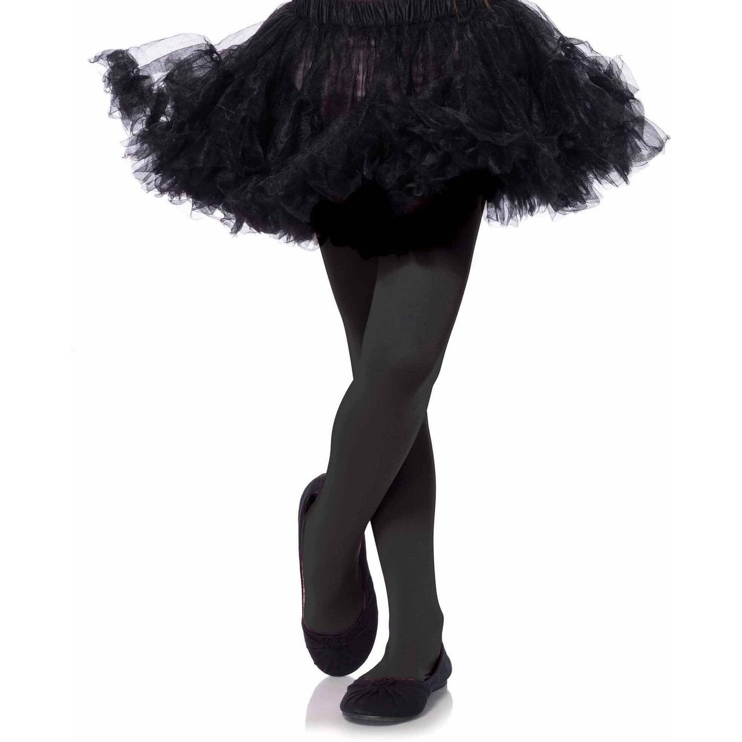 Leg Avenue Opaque Tights Child Halloween Accessory