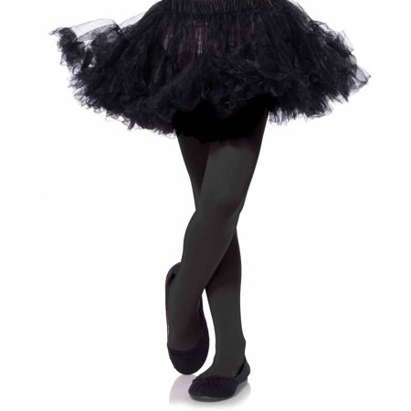 Leg Avenue Opaque Tights Child Halloween Accessory](Kids Halloween Tights)