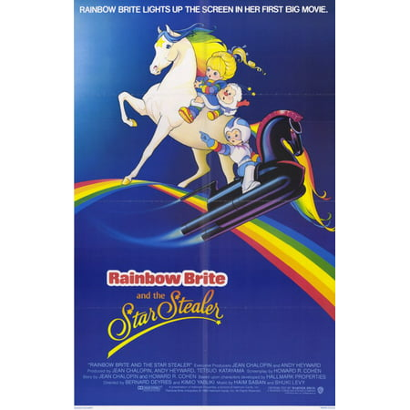 Rainbow Brite and the Star Stealer (1985) 11x17 Movie Poster - Star Student Poster