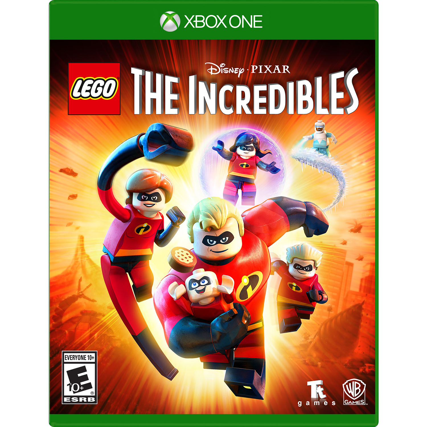 LEGO The Incredibles, Warner Home Video, Xbox One, REFURBISHED/PREOWNED