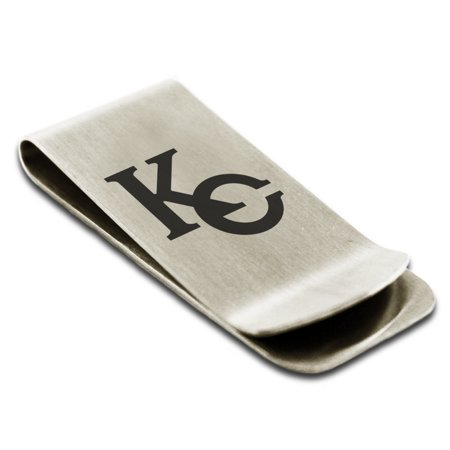 Yu-Gi-Oh! KC Logo Stainless Steel Engraved Money Clip Credit Card Holder ()