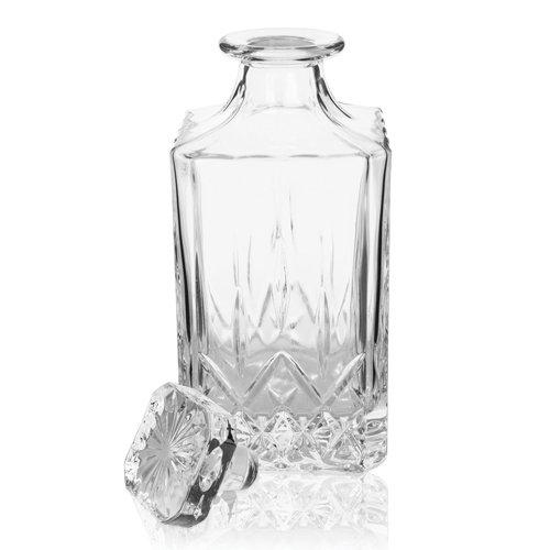 Liquor Bottle Decanter, Modern Liquor Decanter Glass Lead Free For Whiskey