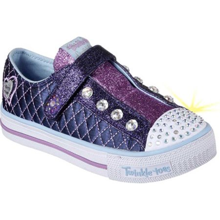 Skechers Little Kids Twinkle Toes Shuffles Sparkly Jewels (Converse Little Kid)