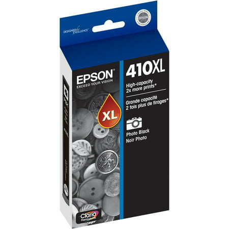 Epson Claria Premium High-Capacity Photo Black Ink Cartridge 3 Ink Photo Black Cartridge