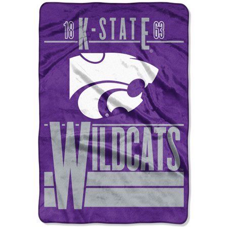 Kansas State Wildcats The Northwest Company 60'' x 80'' Faculty Oversized Micro Raschel Throw Blanket - Purple - OSFA Ncaa Kansas State Wildcats Pattern