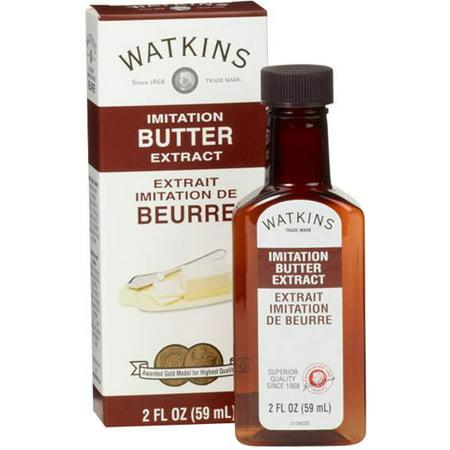 (3 Pack) Watkins Imitation Butter Extract, 2 fl oz