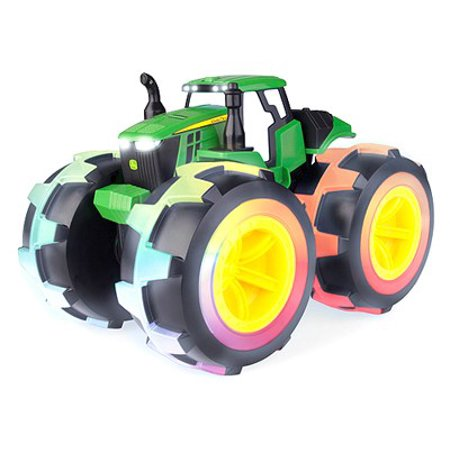 John Deere Toy Tractor, Monster Treads Gator with Lightning (Remote Control John Deere Monster Treads Gator)