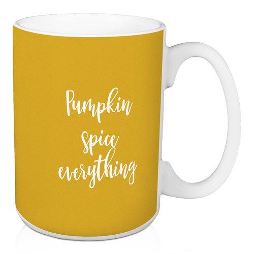 Winston Porter Navarrete Pumpkin Spice Everything Coffee Mug