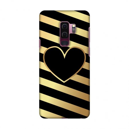 Samsung Galaxy S9 Plus Case,Premium Handcrafted Designer Hard Shell Snap On Case Shockproof Printed Back Cover with Screen Cleaning Kit for Samsung Galaxy S9 Plus - Diagonal Heart -