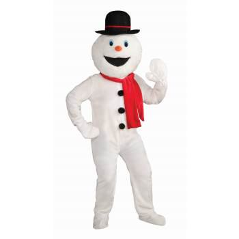 Mascot Costume For Kids (DLX MASCOT COSTUME-SNOWMAN)