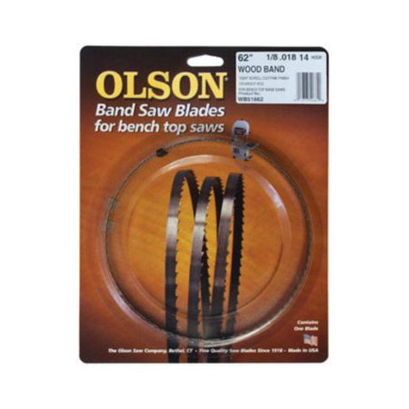 Olson Saw 51662 Wood Band Saw Blade, 6 TPI, 62
