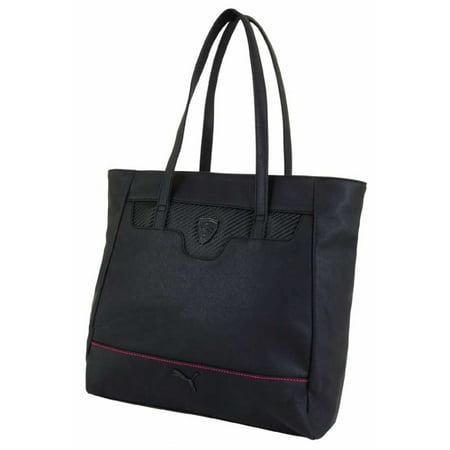 Puma Ferrari Black LS Shopper Bag (Ferrari Bar)